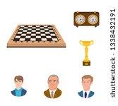 vector illustration of chess...   Shutterstock .eps vector #1338432191