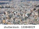 dense residential area in... | Shutterstock . vector #133848029