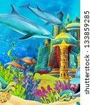 the underwater castle
