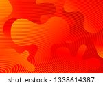 red abstract background with... | Shutterstock .eps vector #1338614387