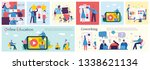 vector illustrations of the... | Shutterstock .eps vector #1338621134