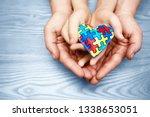 world autism awareness day ... | Shutterstock . vector #1338653051