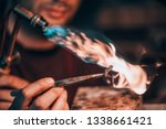 close up of a hand of a...   Shutterstock . vector #1338661421