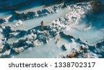 natural spa in saturnia ... | Shutterstock . vector #1338702317
