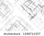 write a blueprint architecture. | Shutterstock . vector #1338711557