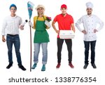 education profession young... | Shutterstock . vector #1338776354