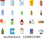 color flat icon set spice flat...   Shutterstock .eps vector #1338812384