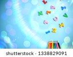 beautiful bright fun kids... | Shutterstock . vector #1338829091