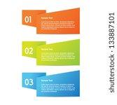 origami progress | Shutterstock .eps vector #133887101