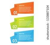 origami progress | Shutterstock .eps vector #133887104