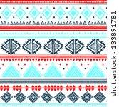 tribal ethnic seamless | Shutterstock .eps vector #133891781