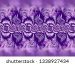 a hand drawing pattern made of... | Shutterstock . vector #1338927434
