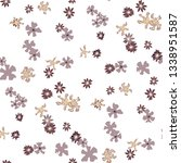 small floral seamless pattern... | Shutterstock .eps vector #1338951587