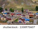 small tibetan village of bamei  ... | Shutterstock . vector #1338970607