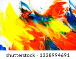 beautiful abstract brushstrokes ... | Shutterstock . vector #1338994691