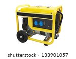gasoline generator under the... | Shutterstock . vector #133901057