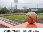 baseball watching for outfield | Shutterstock . vector #1339019567