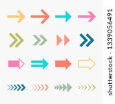 arrows vector collection | Shutterstock .eps vector #1339056491