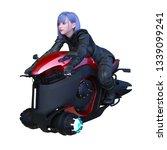 3d cg rendering of bike | Shutterstock . vector #1339099241