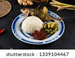 fried mackerel with chili paste ... | Shutterstock . vector #1339104467
