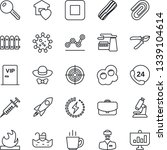 thin line icon set   factory... | Shutterstock .eps vector #1339104614