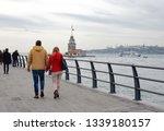 uskudar  istanbul   november 11 ... | Shutterstock . vector #1339180157