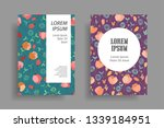 modern cover design template...   Shutterstock .eps vector #1339184951
