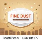 health care from fine dust   Shutterstock .eps vector #1339185677