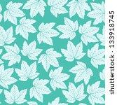 seamless maple leaf pattern... | Shutterstock .eps vector #133918745