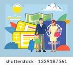 travel agency  tourism concept. ... | Shutterstock .eps vector #1339187561