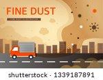 health care from fine dust | Shutterstock .eps vector #1339187891