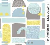 scandinavian seamless pattern... | Shutterstock .eps vector #1339201247