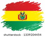 flag of bolivia  plurinational... | Shutterstock .eps vector #1339204454