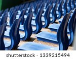seats of local outdoor sports... | Shutterstock . vector #1339215494