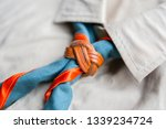 scout scarf and woggle .... | Shutterstock . vector #1339234724