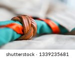 scout scarf and woggle .... | Shutterstock . vector #1339235681