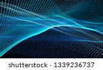 cosmic dust movement. abstract... | Shutterstock . vector #1339236737