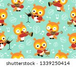 seamless pattern vector with... | Shutterstock .eps vector #1339250414