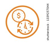 time is money icon | Shutterstock .eps vector #1339257044