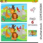 cartoon illustration of finding ...   Shutterstock .eps vector #1339334084