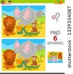 cartoon illustration of finding ... | Shutterstock .eps vector #1339334087