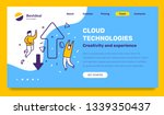 vector business template with...