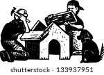 black and white vector... | Shutterstock .eps vector #133937951