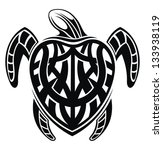 turtle | Shutterstock .eps vector #133938119