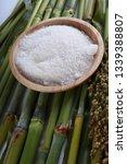 sugar and sugar cane background   Shutterstock . vector #1339388807