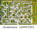 aerial photo top view medium...   Shutterstock . vector #1339472591