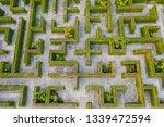 aerial photo top view medium...   Shutterstock . vector #1339472594