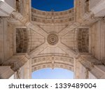 beautifully ceiling of the... | Shutterstock . vector #1339489004