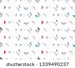seamless vector geometrical... | Shutterstock .eps vector #1339490237