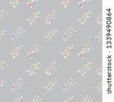 seamless vector geometrical... | Shutterstock .eps vector #1339490864